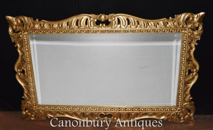 Regency Adams Gilt Mantle Mirror