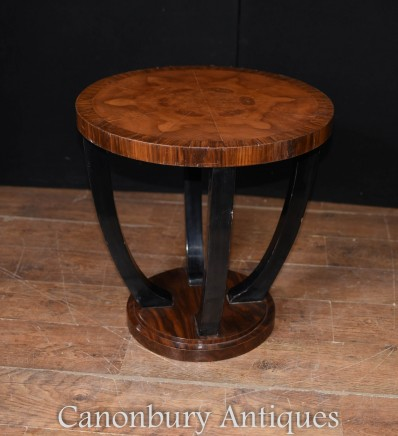 Single Art Deco Side Table - Modern Interiors Furniture