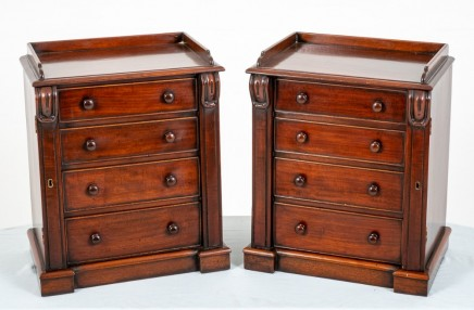Victorian Minature Chest Drawers Mahogany Chests Nightstands