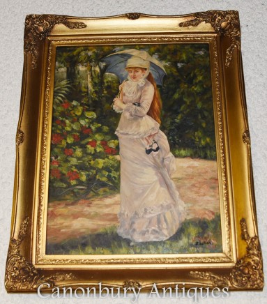 Victorian Oil Painting Portrait of a Lady