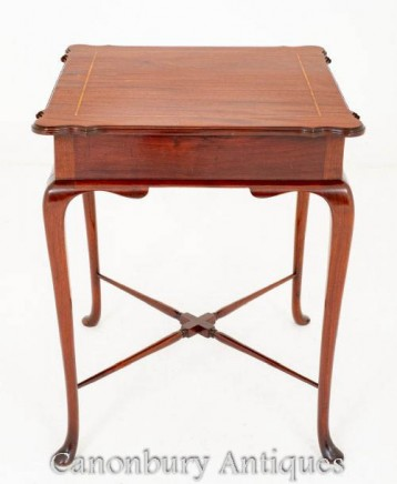 Victorian Side Table in Mahogany Circa 1900