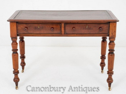 Victorian Writing Table - Antique Desk 1880