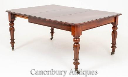 William IV Mahogany Dining Table 19th Century