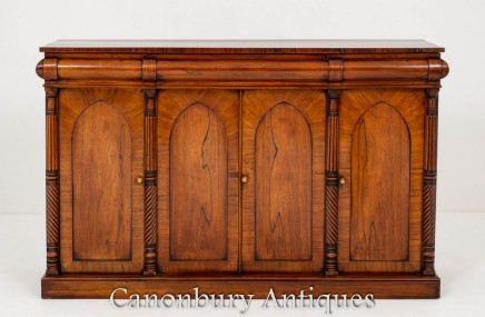 William IV Sideboard Server - Rosewood 19th Century