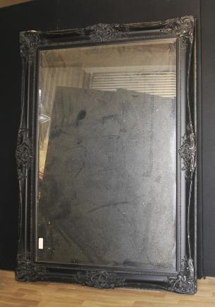 XL Victorian Mirror Painted Pier Mirror 6 Feet
