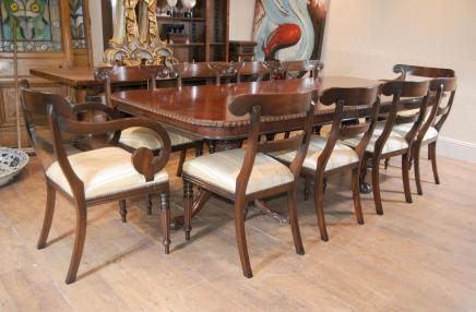 Chippendale Dining Table Set Trafalgar Chairs Set Suite