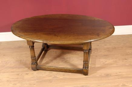English Oak Refectory Coffee Table Tables