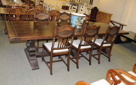Refectory Table Dining Set - Kitchen Dining Chairs