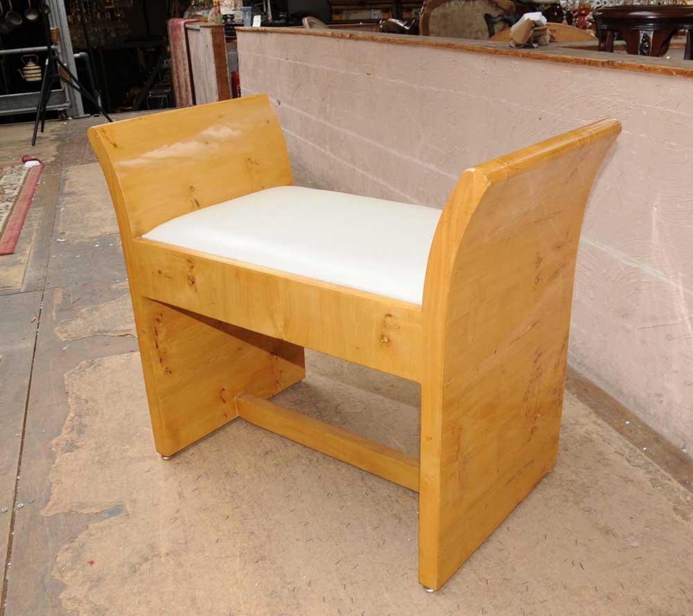 Art Deco Stool 1920s Modernist Seat Furniture Ebay