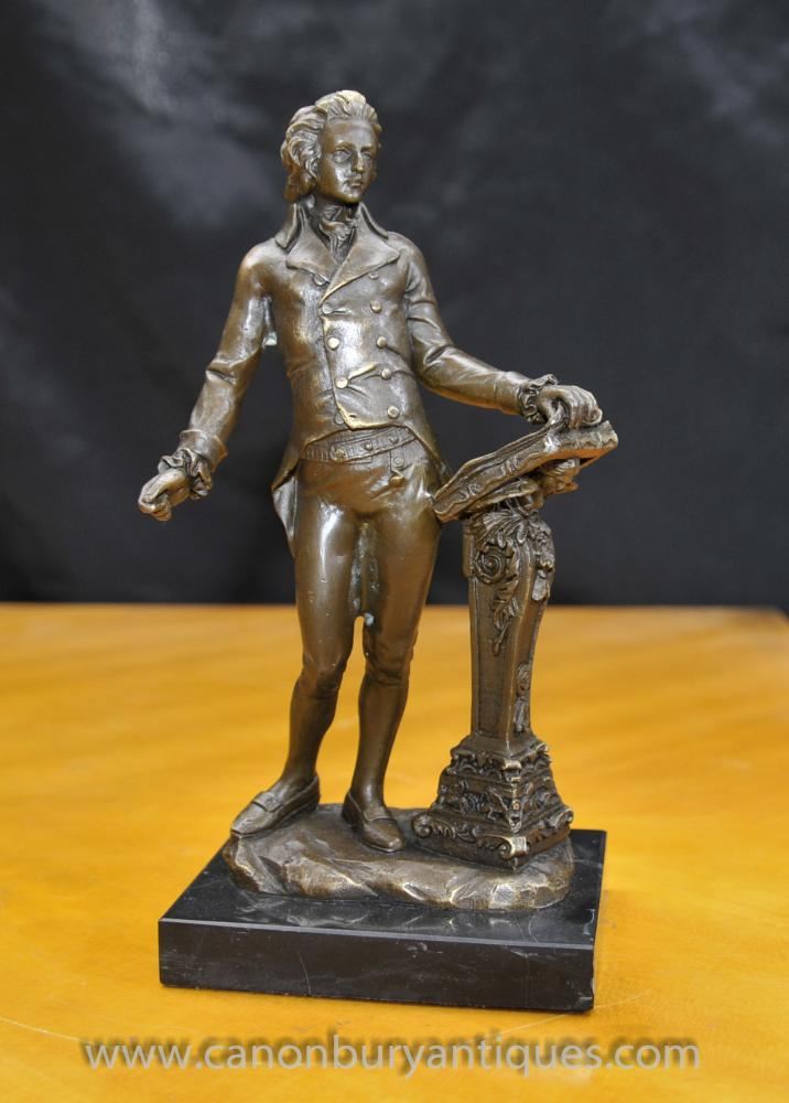Joe For Oil >> Bronze Statue Beethoven Classical German Music Composer ...