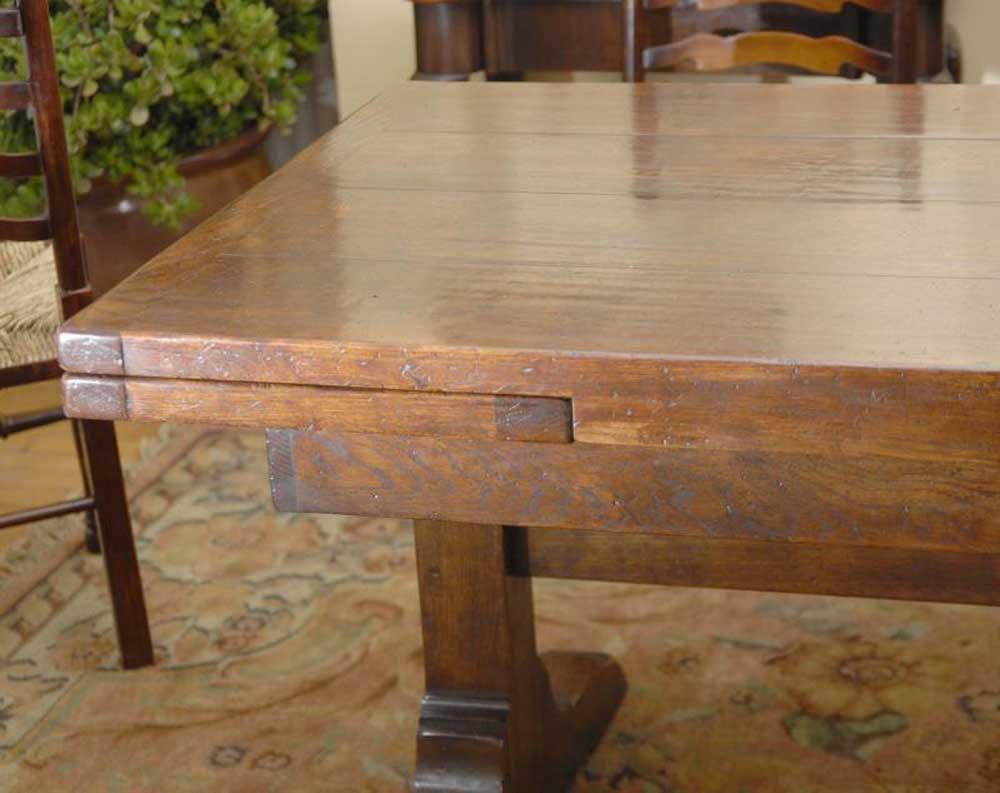 10 ft english oak farmhouse table farmhouse extender for 10 foot farm table