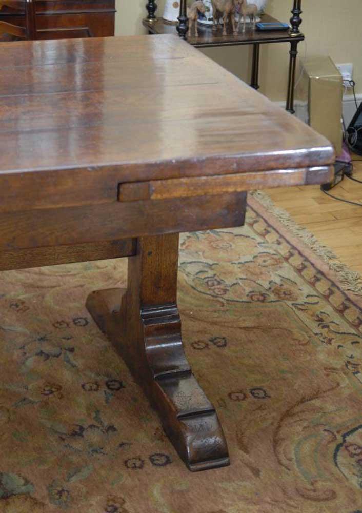Oak Refectory Tables For Sale 10 ft English Oak Farmhouse Table Farmhouse Extender