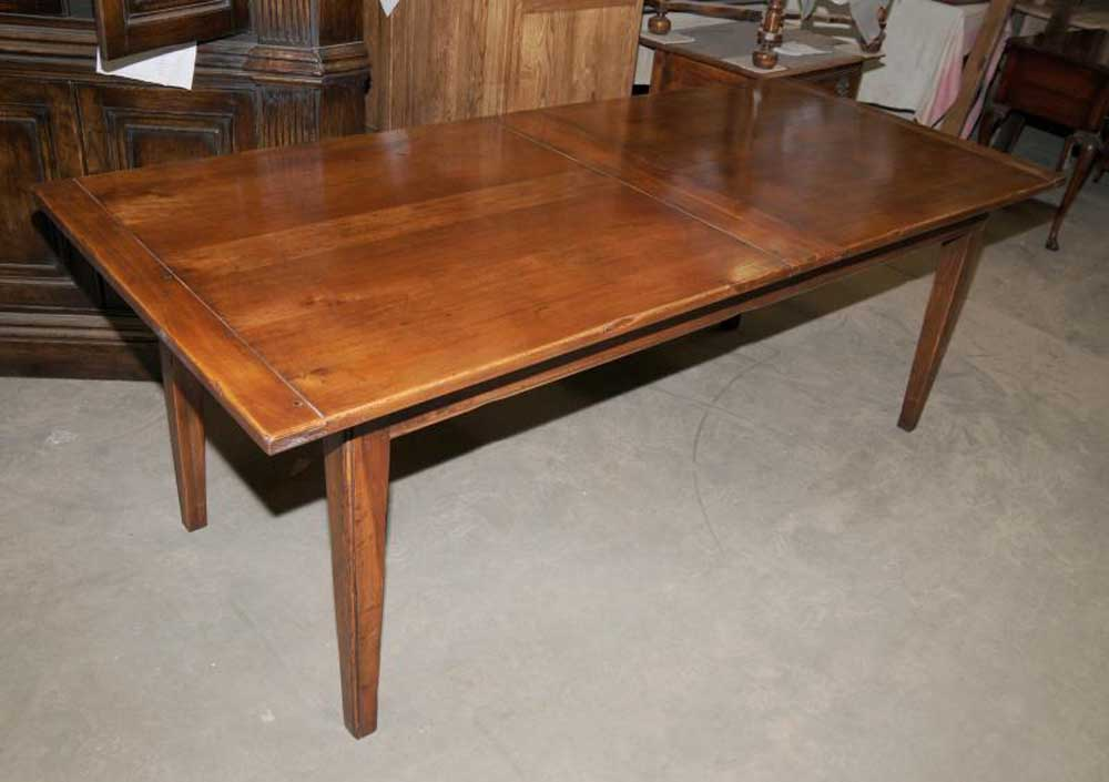 10 Ft Cherry Wood Farmhouse Table With Two 8 Ft Benches