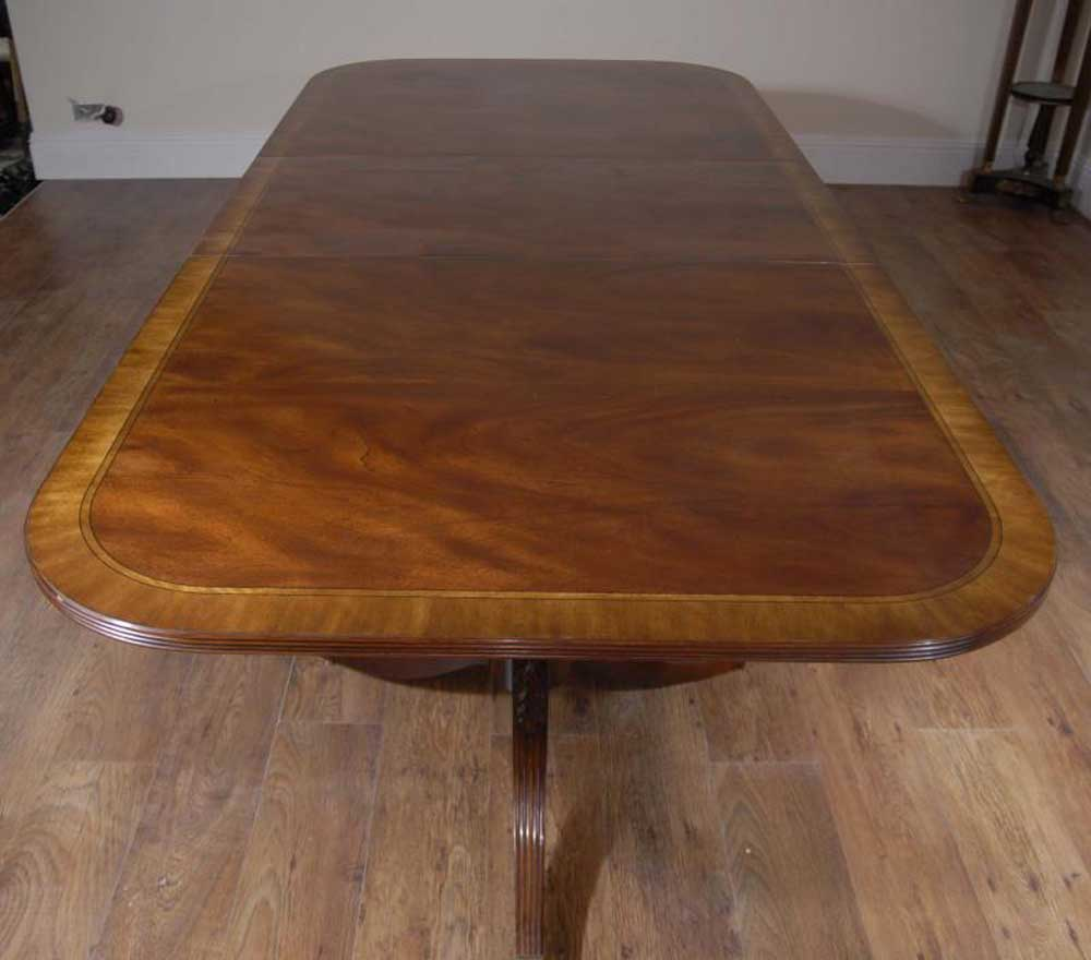 10 seater english regency pedestal dining table for 10 seater dining table