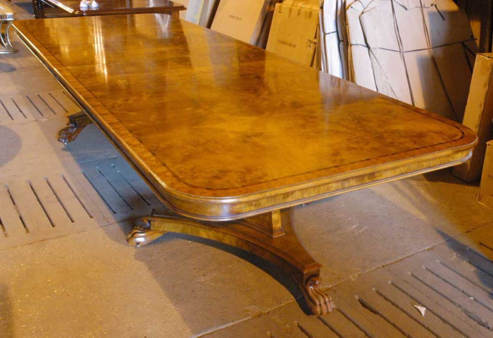 12 foot english george iii walnut dining table for 12 foot table