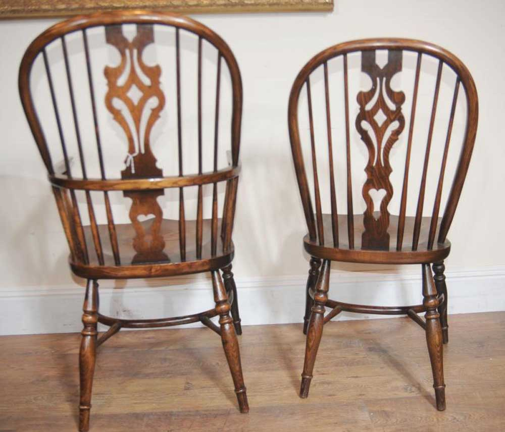 Antique Windsor Chairs Dining: 10 Antique Windsor Kitchen Dining Chairs Set