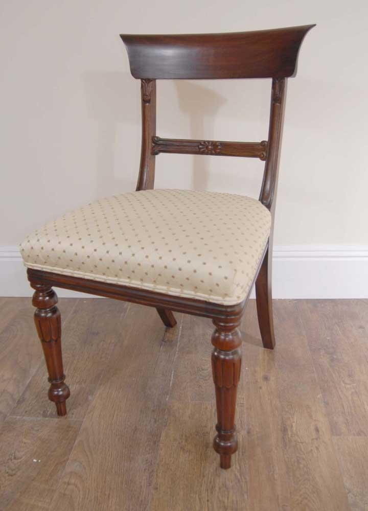 10 English Regency Trafalgar Dining Chairs