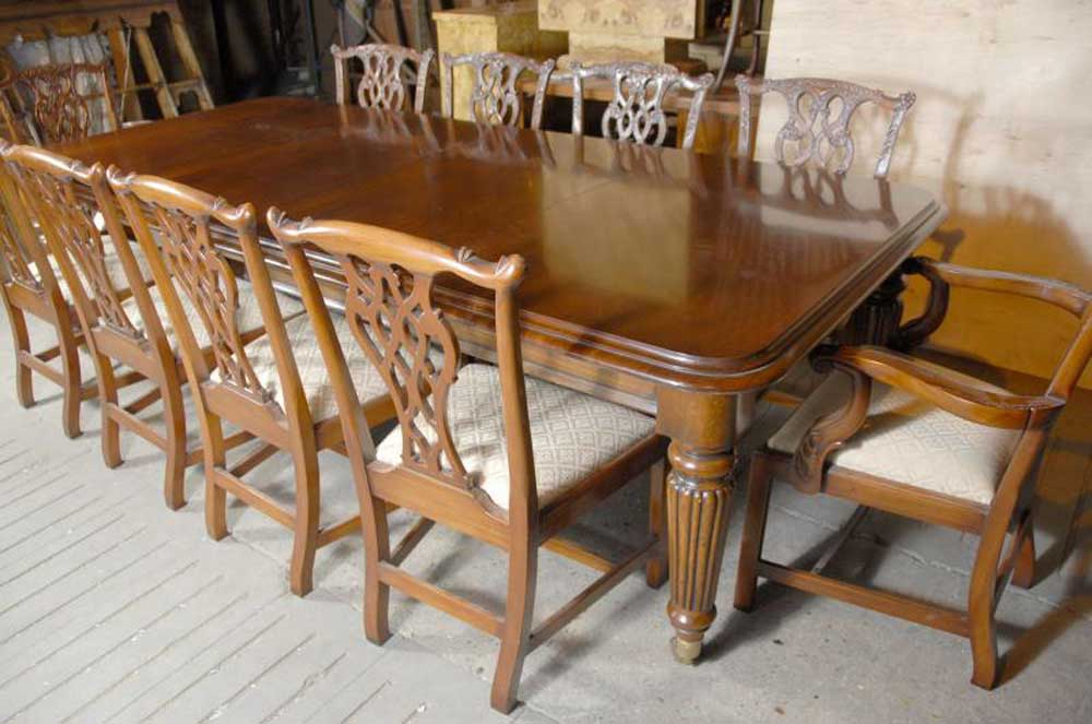 9 foot english victorian dining table tables for 9 foot dining room table