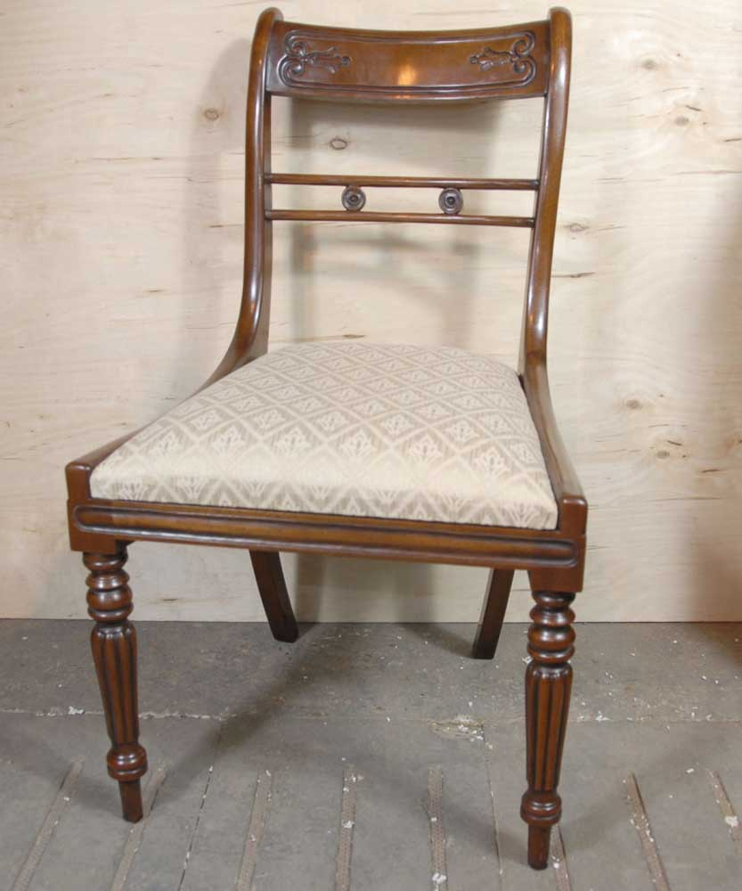 Victorian Dining Table: 9 Ft English Victorian Dining Table & 10 Regency Chairs