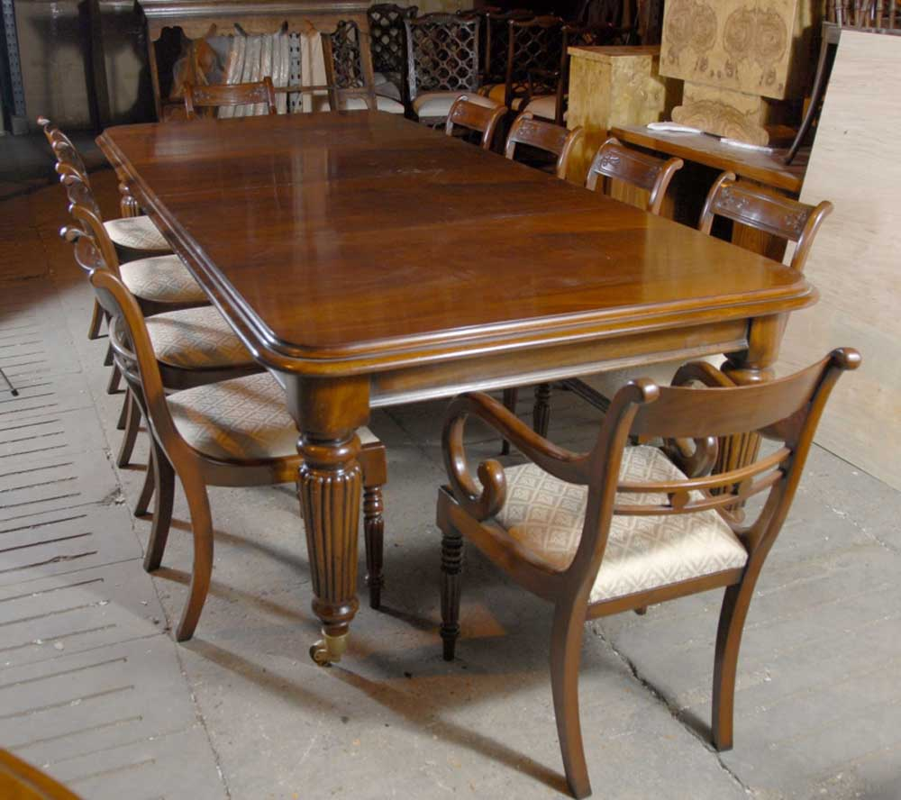 9 ft English Victorian Dining Table amp 10 Regency Chairs eBay : 9 ft english victorian dining table and 10 regency chairs 1241644237 product 4 from www.ebay.com.au size 1000 x 888 jpeg 96kB