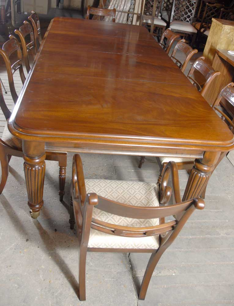 9 ft English Victorian Dining Table amp 10 Regency Chairs eBay : 9 ft english victorian dining table and 10 regency chairs 1241644237 product 6 from www.ebay.com.au size 765 x 1000 jpeg 89kB