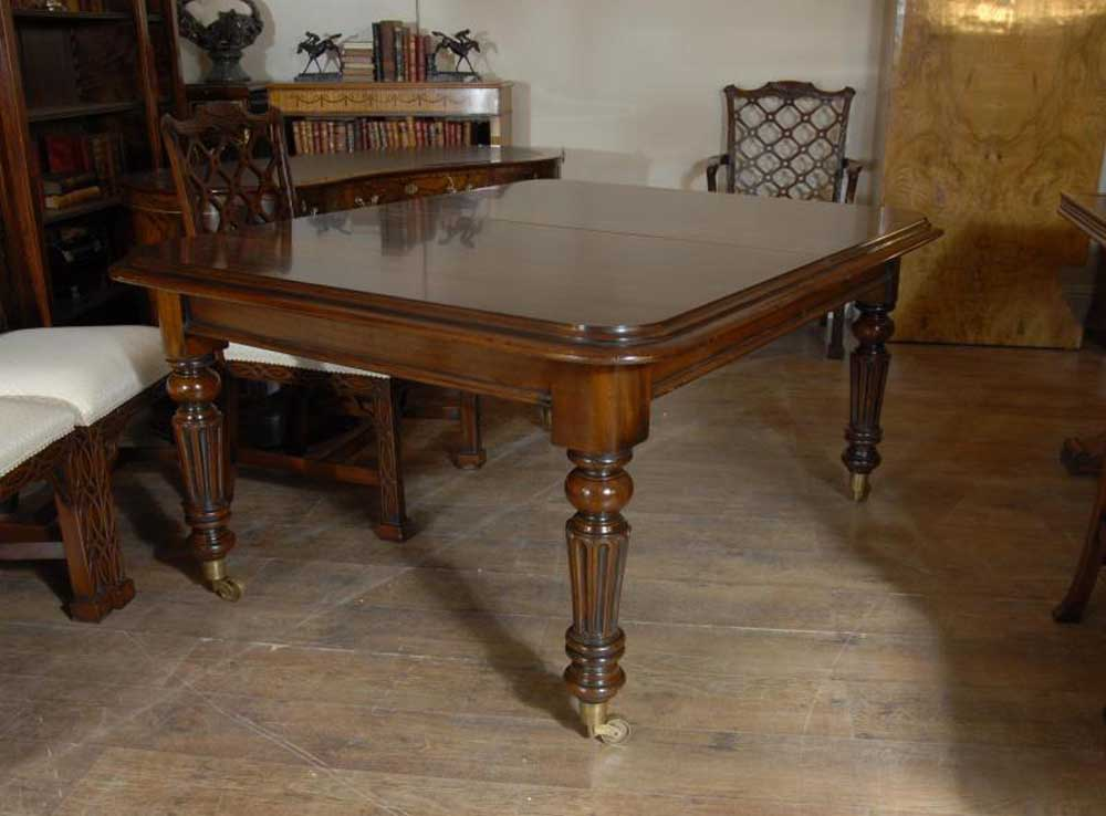 Victorian Dining Table In Mahogany 9ft 279 Cm Tables