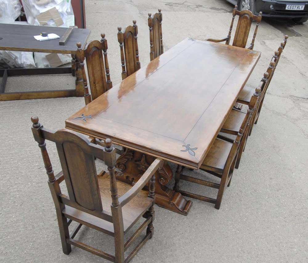 Refectory Table And Chair Set