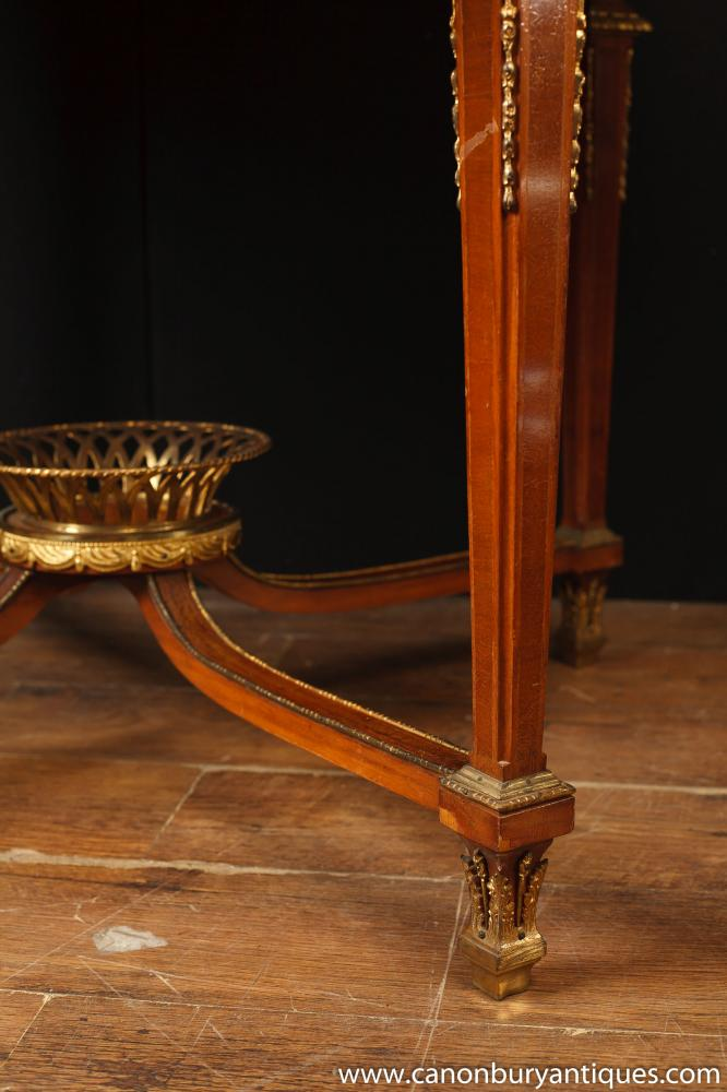 Antique French Empire Centre Table Center Dining Furniture