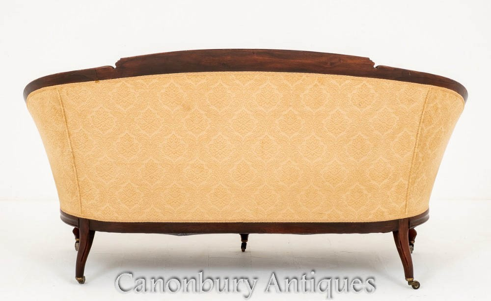 Antique French Sette Couch - Sofa Circa 1860
