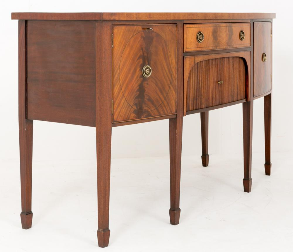 antique georgian mahogany sideboard buffet server. Black Bedroom Furniture Sets. Home Design Ideas
