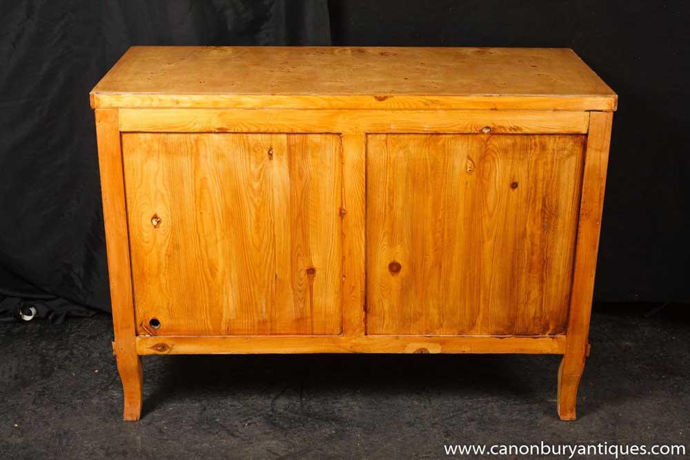 Art deco beidermeier chest drawers commode furniture for Commode miroir art deco