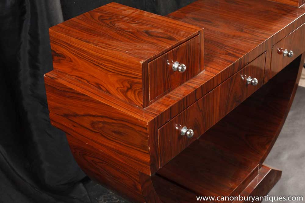 art deco dressing table console tables  furniture