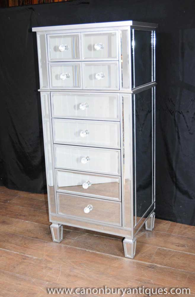 zoom of with crystal and plinth mirrored drawer my chest low flavia handles drawers