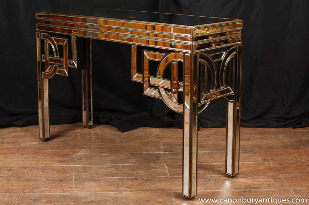 Art Deco Mirrored Console Table Hall Tables 1920s Furniture