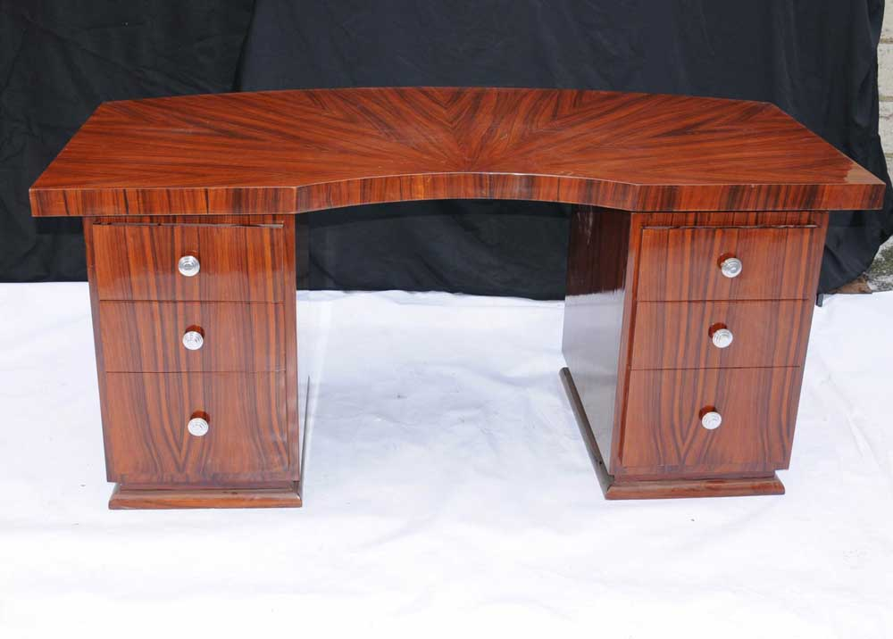 art deco writing desk Results 1 - 48 of 652 this is an antique, art nouveau desk, an english, victorian, walnut cabinet, liberty-esque in styling and dating to circa 1900 a super piece of period this is an antique open pedestal desk, an english, walnut writing table by w walker and sons, london and dating to the late 19th century circa 1870.