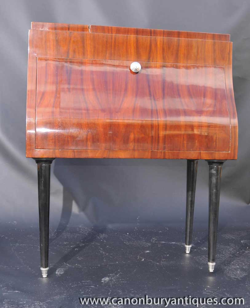 Art Deco Piano Drinks Cabinet Cocktail Chest Furniture