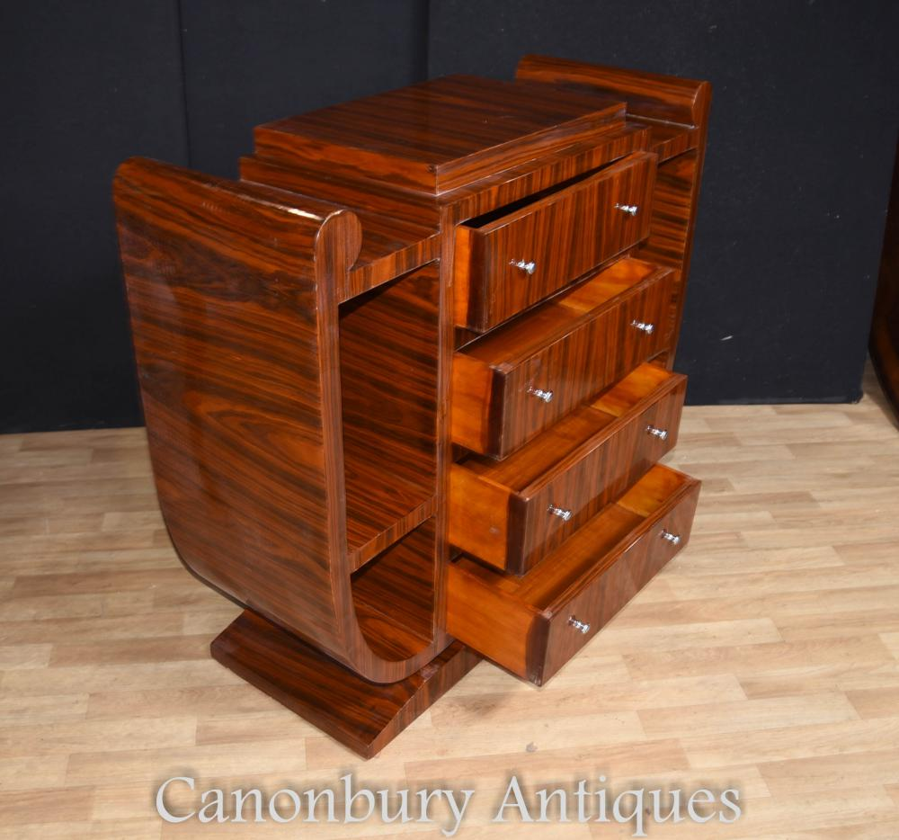art deco chest of drawers commode 1920s furniture. Black Bedroom Furniture Sets. Home Design Ideas
