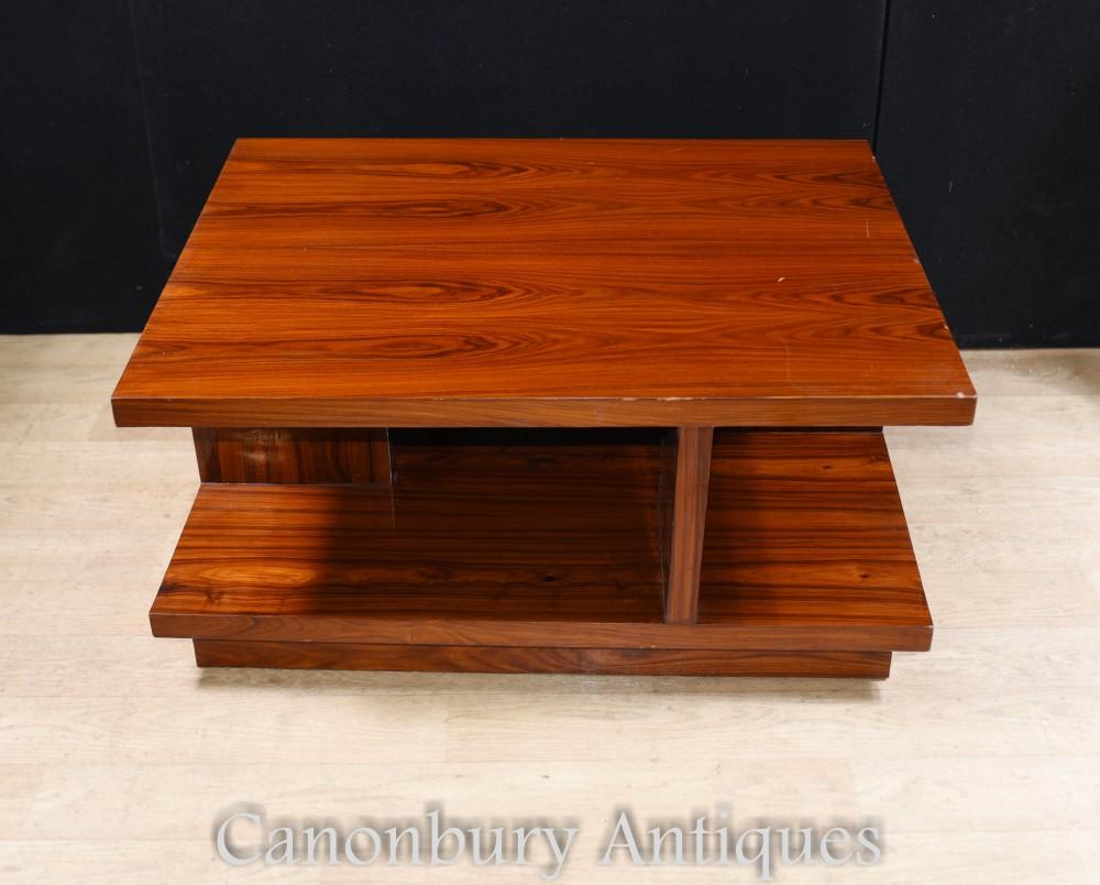 Art Deco Coffee Table Rosewood Modern Vintage Furniture Ebay