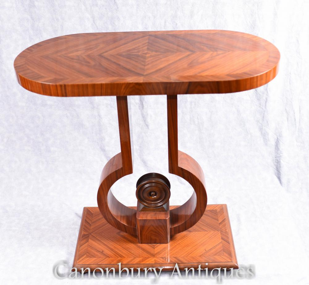 Art Deco Foyer Table : Art deco console table rosewood hall tables furniture