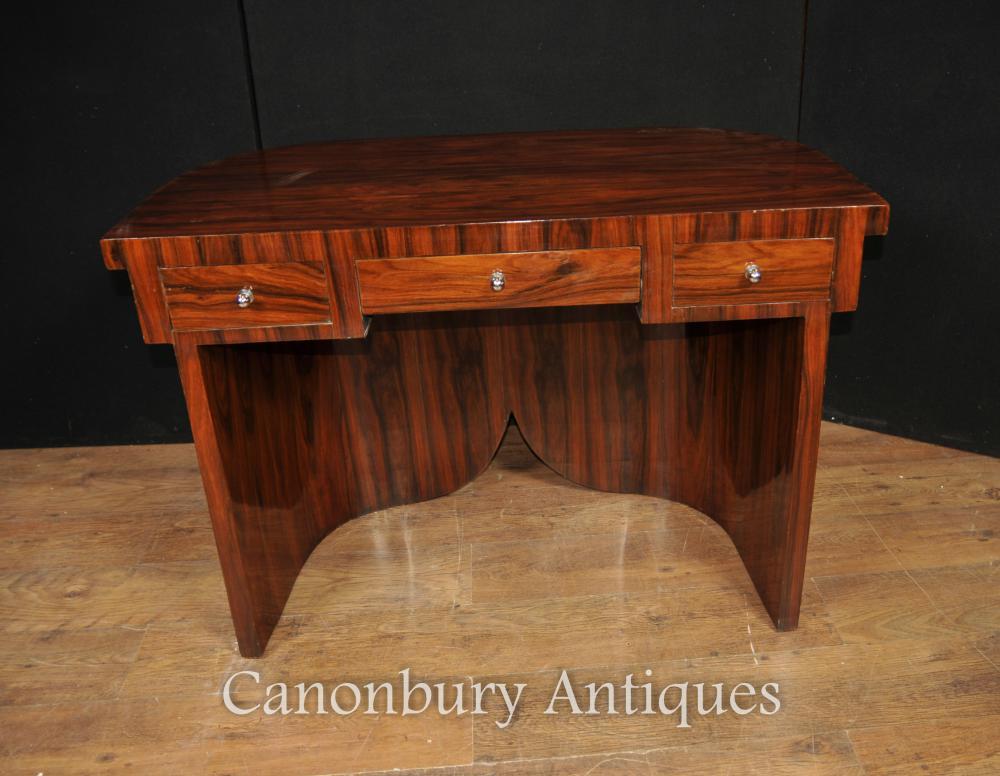 Queen Anne Desk >> Art Deco Desk Writing Table in Rosewood Furniture
