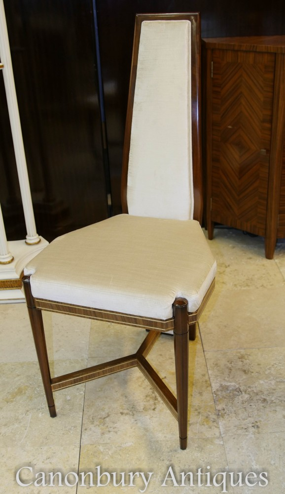 Art Deco Dining Set Octagonal Table And Chairs Suite