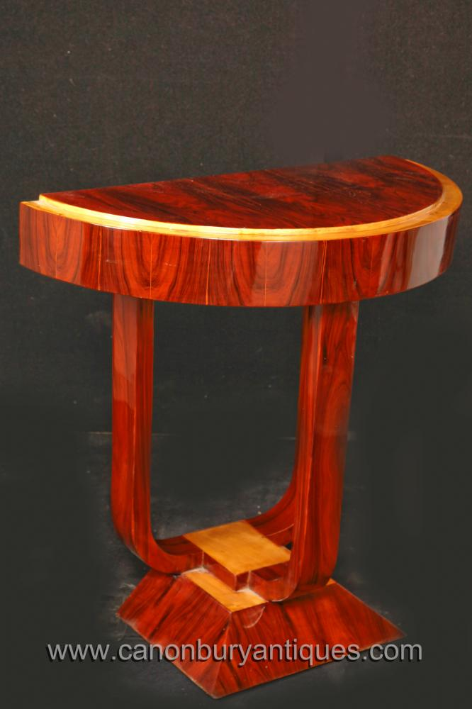 Art Deco Foyer Table : Art deco hall table vintage s console tables
