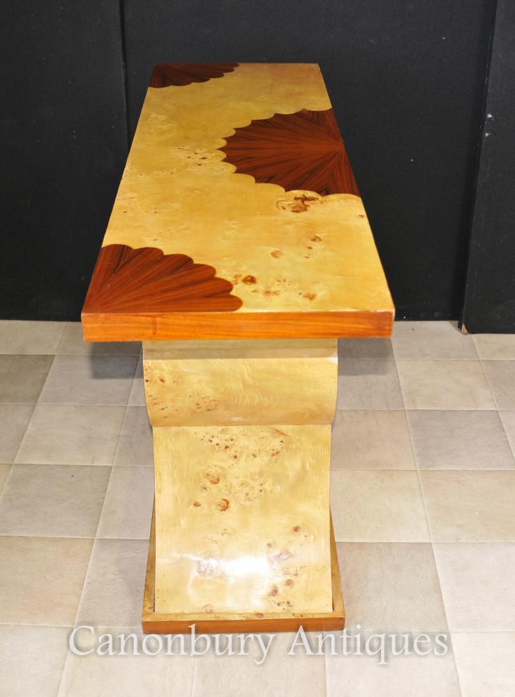 Art Deco Heart Console Table 1920s Modernist Furniture