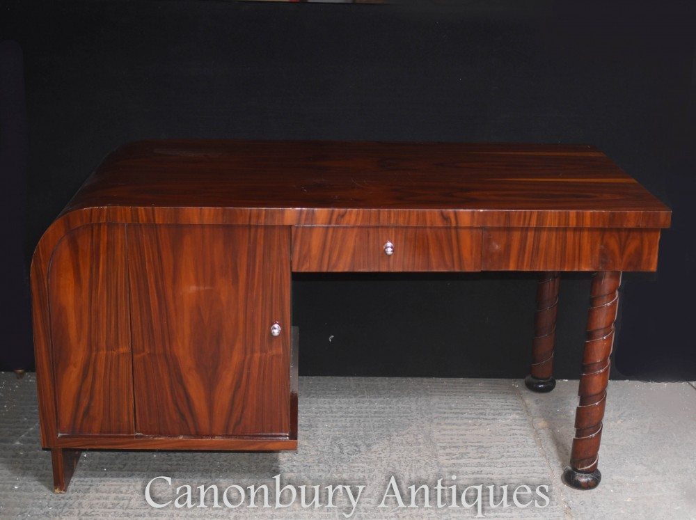 Art Deco Desk Writing Table 1920s Office Furniture Ebay