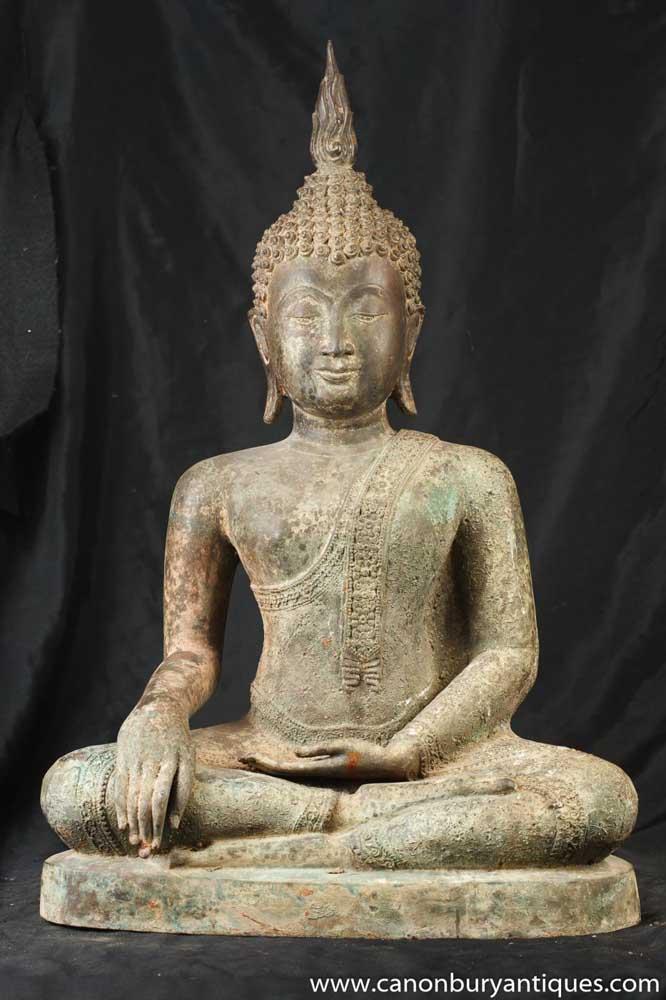 Bronze Nepalese Buddhist Statue Buddha Art Buddhism Nepal