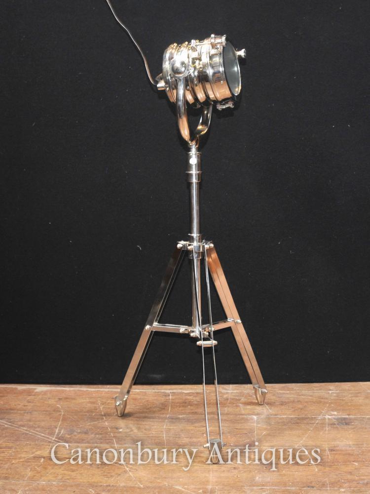 Tripod Lamp Living Room