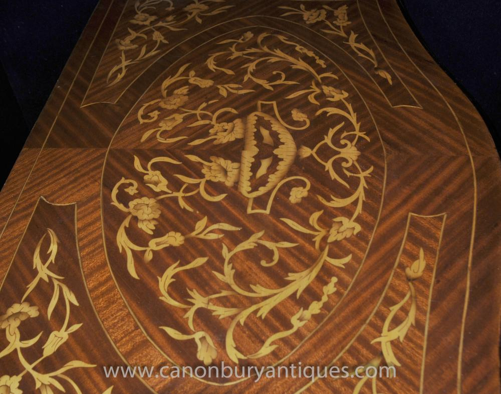 Dutch Marquetry Console Table Marquetry Inlay Furniture Tables