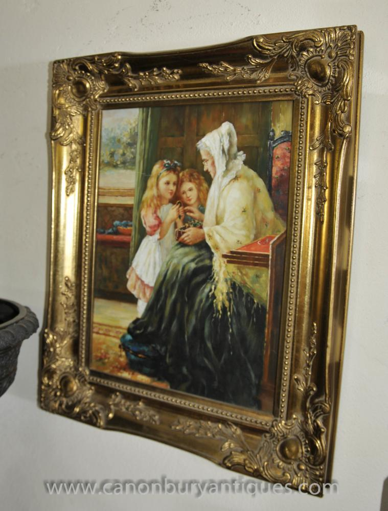 Victorian Beauty Painting by Portraits By NC  Victorian Painting Portrait Artists