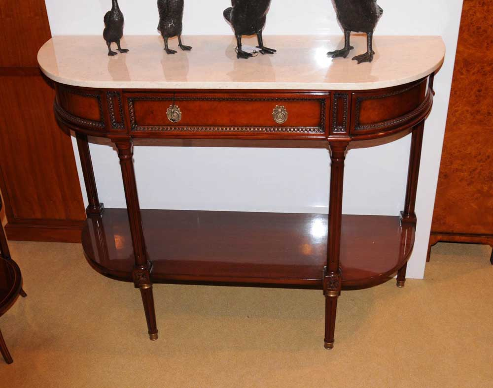 french louis xv walnut console table buffet server sideboard. Black Bedroom Furniture Sets. Home Design Ideas
