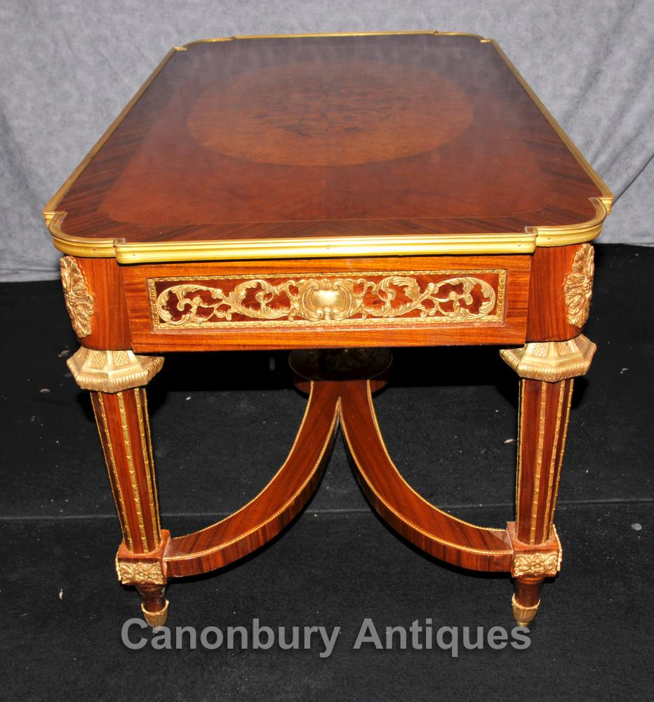 Empire Mirrored Coffee Table: French Empire Coffee Table Kingwood Ormolu Tables Furniture